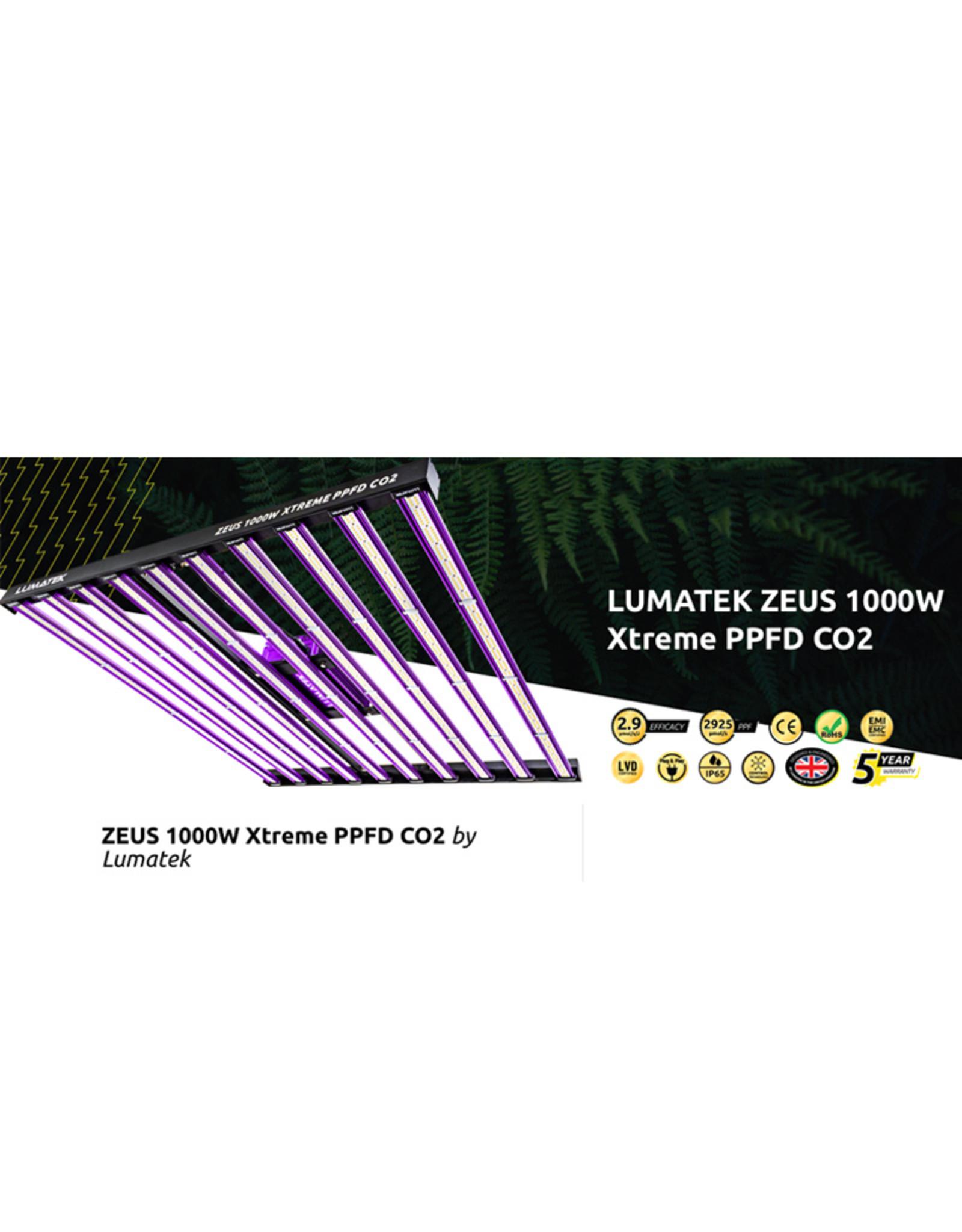 LUMATEK LUMATEK ZEUS LED 1000WATT XTREME PPFD CO2