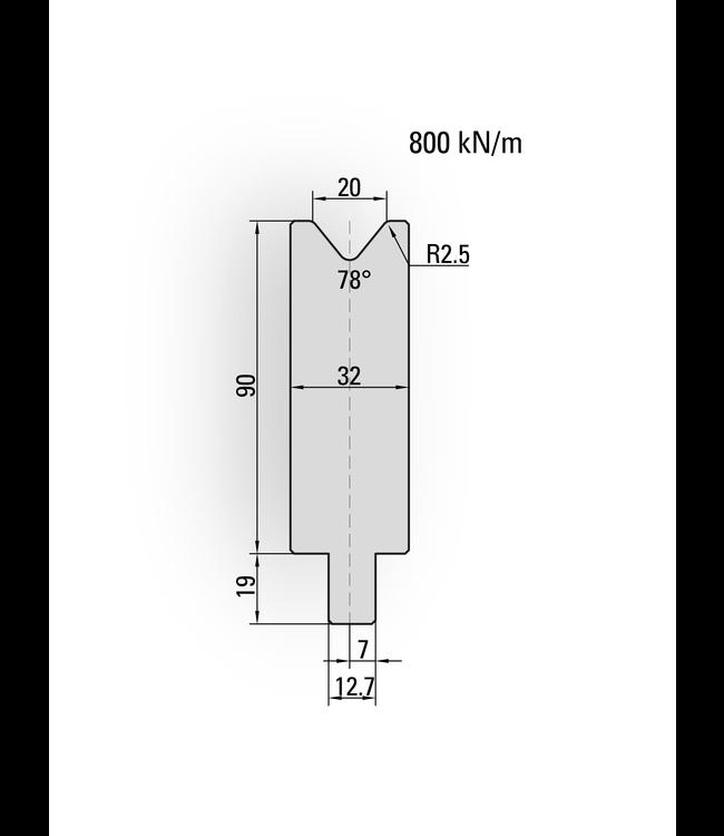 26.720 - Length 550 mm sekt.