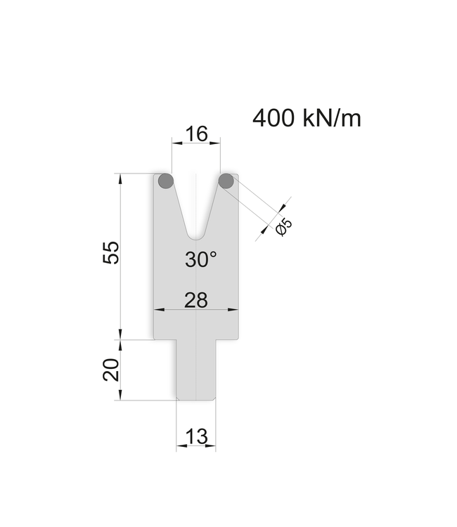 99.1630 - 515 mm Länge