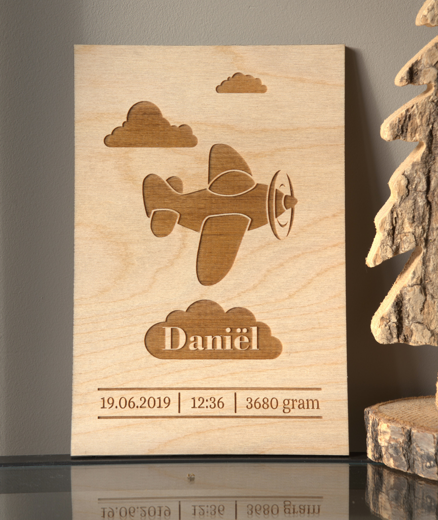 Babykamer Inspiratie - Geboorteposter Daniël Closeup