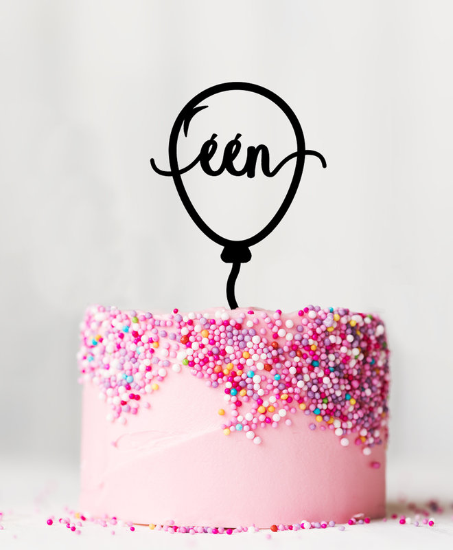 Taarttopper Verjaardag - 1 Jaar