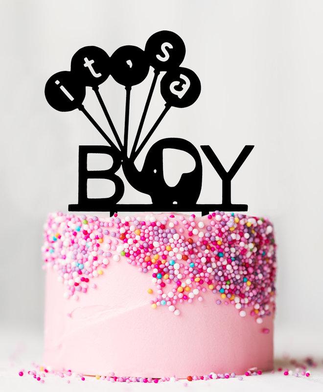 Taarttopper Gender Reveal - It's a Boy