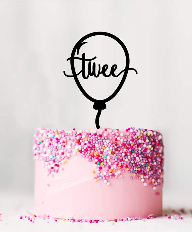 Taarttopper Verjaardag - 2 Jaar