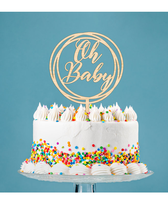 Taarttopper - Gender Reveal Oh Baby