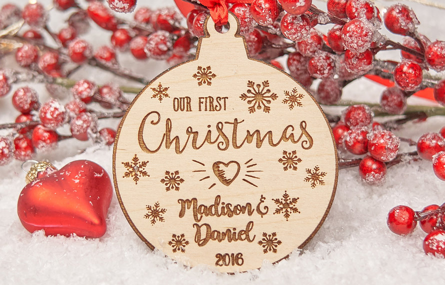 Leuk voor in de kerstboom: Houten kerstballen!