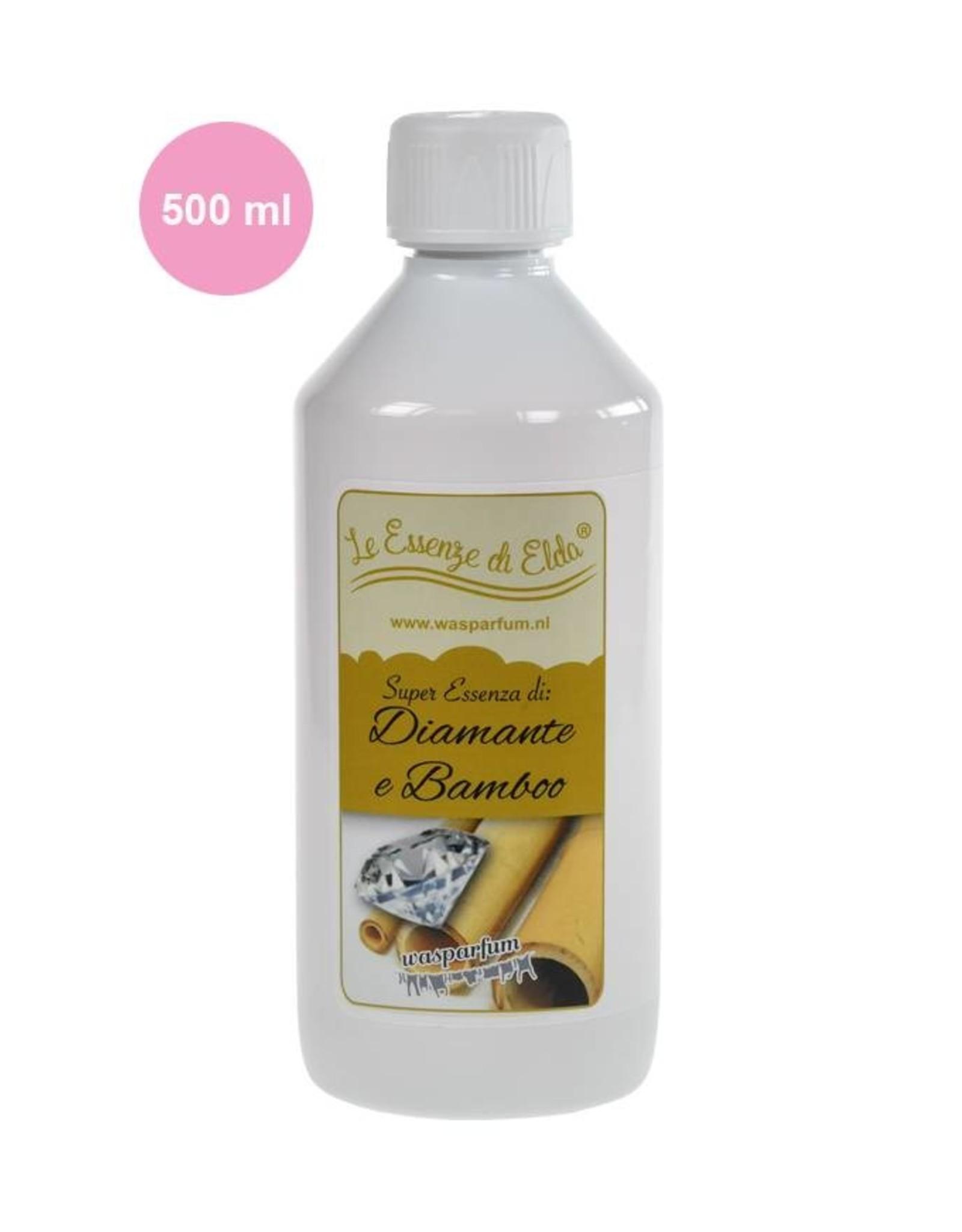 Wasparfum Fles Diamante & Bamboo Wasparfum