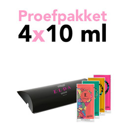 Wasparfum Proefset Bella ELDA 4 x 10 ml sachet!!