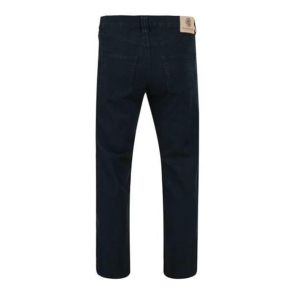 KAM 1001 Big size Black Stretch Jeans