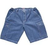 JeansXL 514 Big size Jeans Navy Blue Bermuda