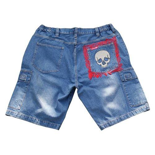 JeansXL 515 Big size Jeans Navy Blue Bermuda