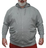 VANDAM 8803 Big size Melange Hoody