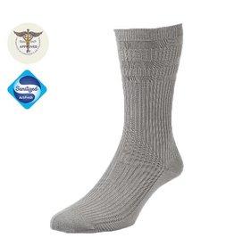 Diabet Socks 19105 Bamboo Extra Wide Grey Socks