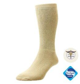 Diabet Socks 13513 Cotton Oatmeal Diabetic Socks