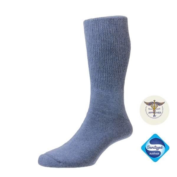Diabet Socks 13517 Cotton Denim Diabetic  Socks
