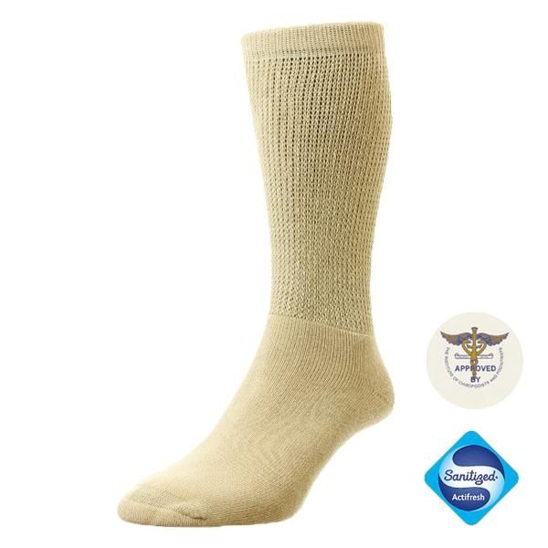 Diabet Socks 13003 Woolen Beige Diabetic Socks