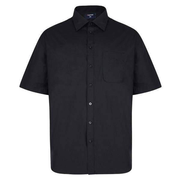 Espionage SS100 Big size Black Shirt