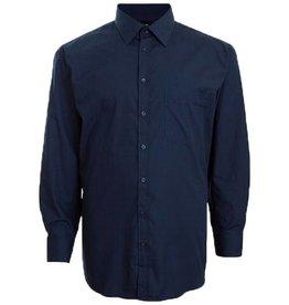 Espionage LS610 Big size Navy Blue Shirt