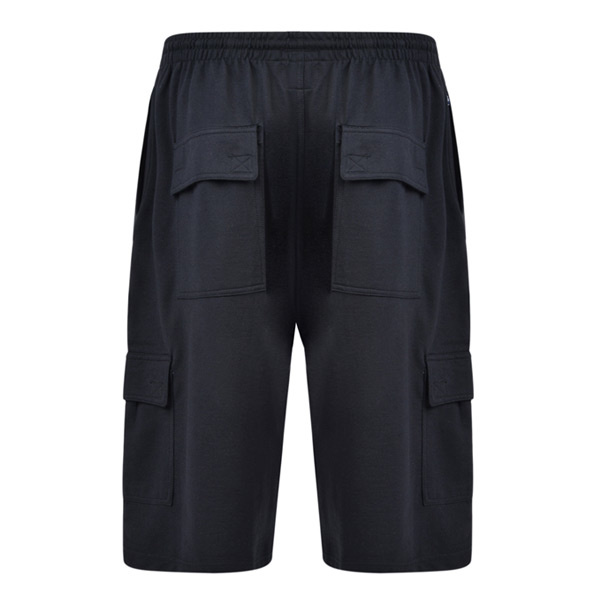 KAM 3001 Super King-size Black Jogging Shorts