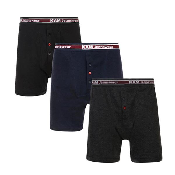 KAM 8000 Super King-size Rib Boxer Shorts