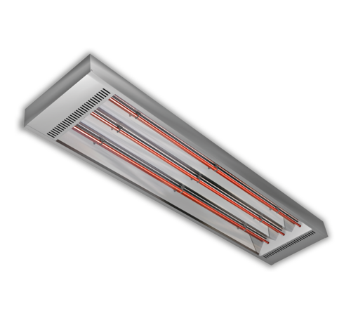 RVS high power infrarood heater strip