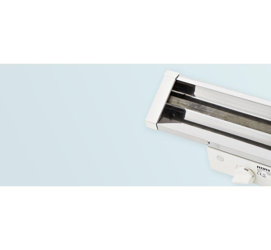 Adax badkamer infrarood straler verstelbaar 1000Watt