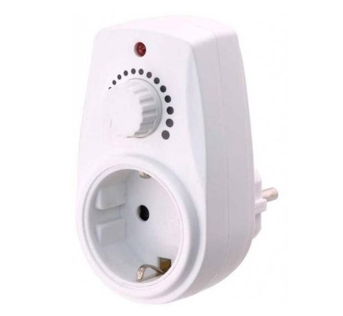 Schloss plug-in dimmer 280Watt max IP20.