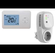 QH Basic draadloze programmeerbare thermostaat met Plug-in ontvanger
