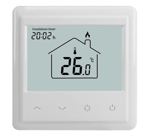 Inbouw timer en thermostaat - countdown