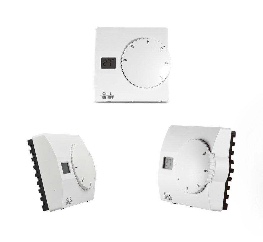 Opbouw thermostaat eenvoudig SAS816