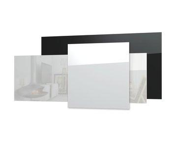 Ecosun GS glazen infraroodpanelen wit of zwart wand of plafond