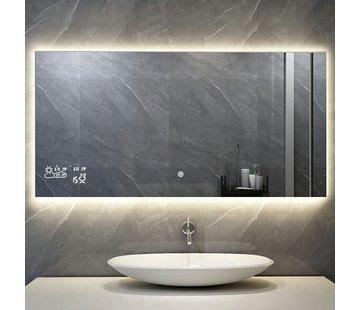Spiegel met led verlichting infrarood verwarming 60X80 250Watt