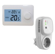 QH Basic draadloze  thermostaat niet-programmeerbaar incl. TC-400 Plug-in ontvanger