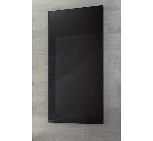 Design Infrarood glas zwart - Quality Heating