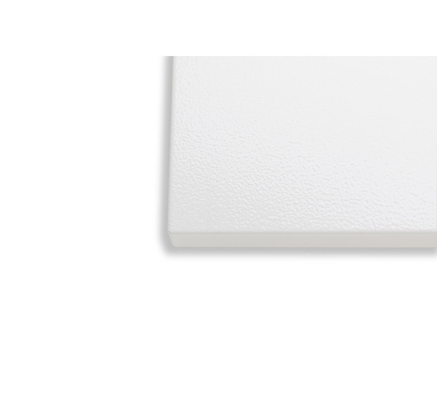 Ecosun infraroodpaneel glad zonder omkader (IP54) 750Watt 59x119 cm