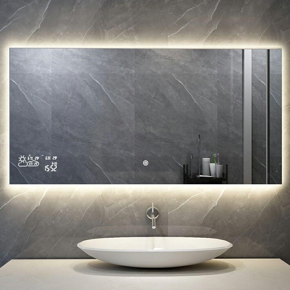 Spiegel Met Wifi Tijd En Infrarood Verwarming 60 X 60 Cm 200 Watt Infraroodverwarming Kopen Quality Heating Laagste Prijsgarantie