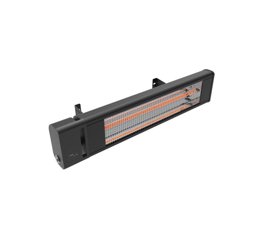 Infrarood heater met afstandsbediening 1800Watt