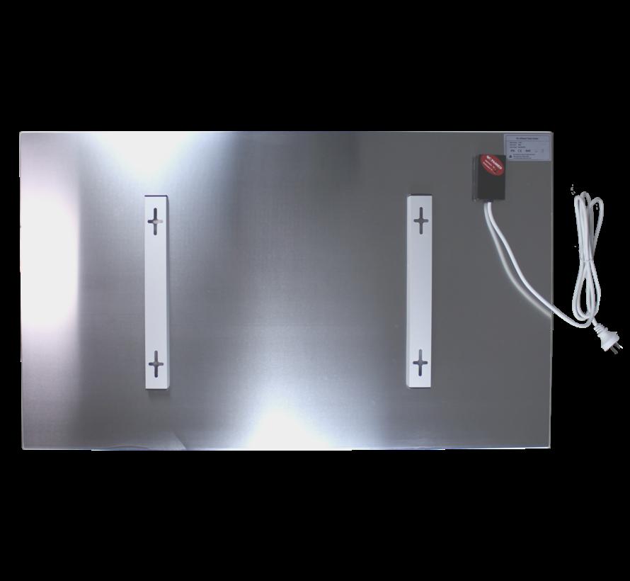 Design Infrarood glas wit - Quality Heating 700Watt