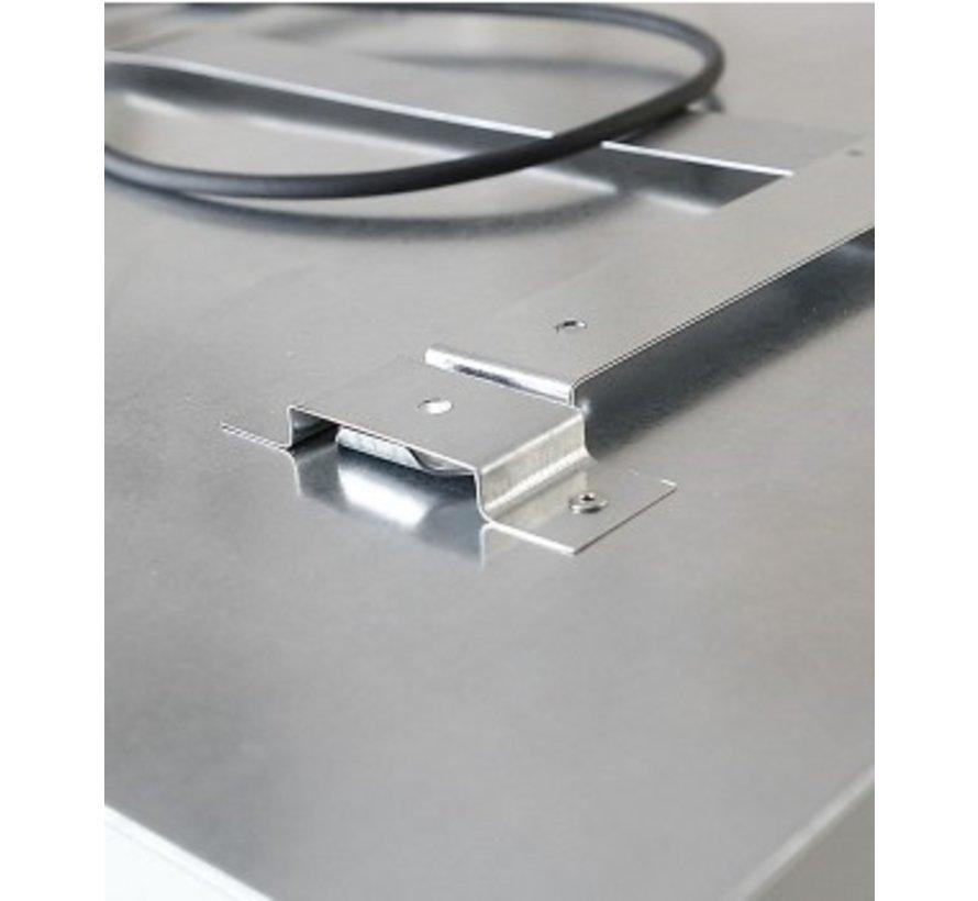 Tweedekans Ecosun infrarood paneel met korrel structuur 59X59 300Watt