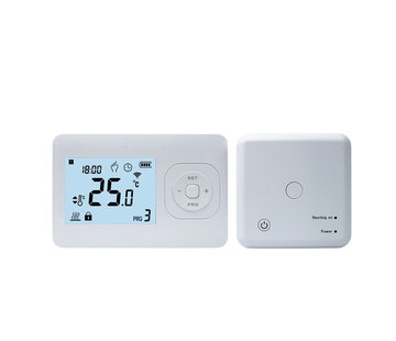 QH Basic programmeerbare thermostaat incl. compacte opbouw ontvanger