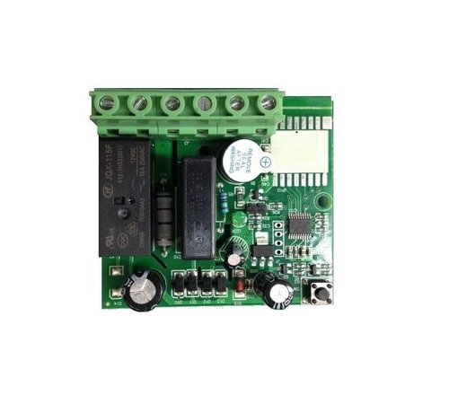 PCB mini 5Ampere ontvanger inbouwdoos