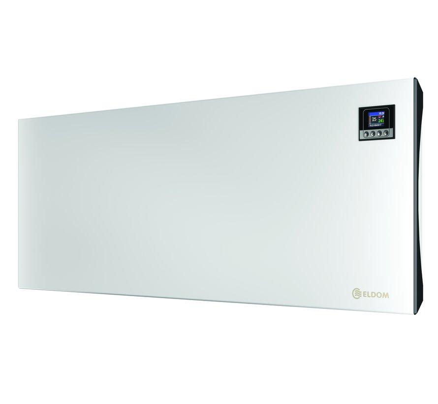 Wifi Eldom convector Extra Life met elektronische instelbare thermostaat