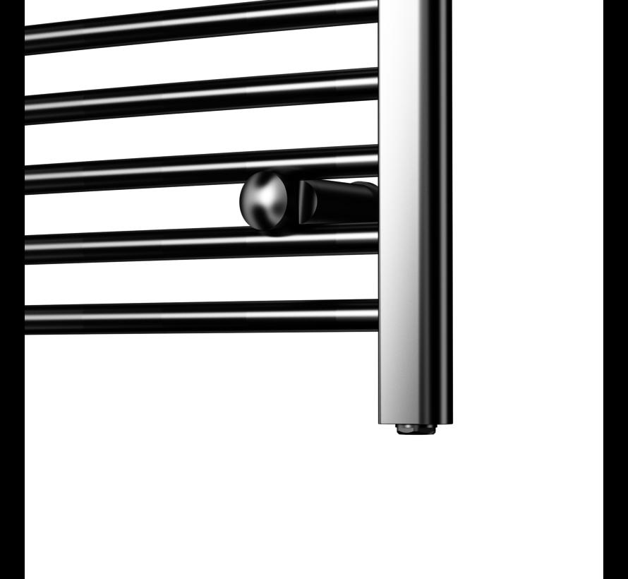 Wit en Chrome AF-UK elektrische handdoek radiator - Quality Heating