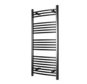 Wit en Chrome AF-UK elektrische handdoek radiator - Quality Heating