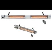 Infrarood golden heater 2400Watt - 3000Watt met afstandsbediening vermogen instelbaar