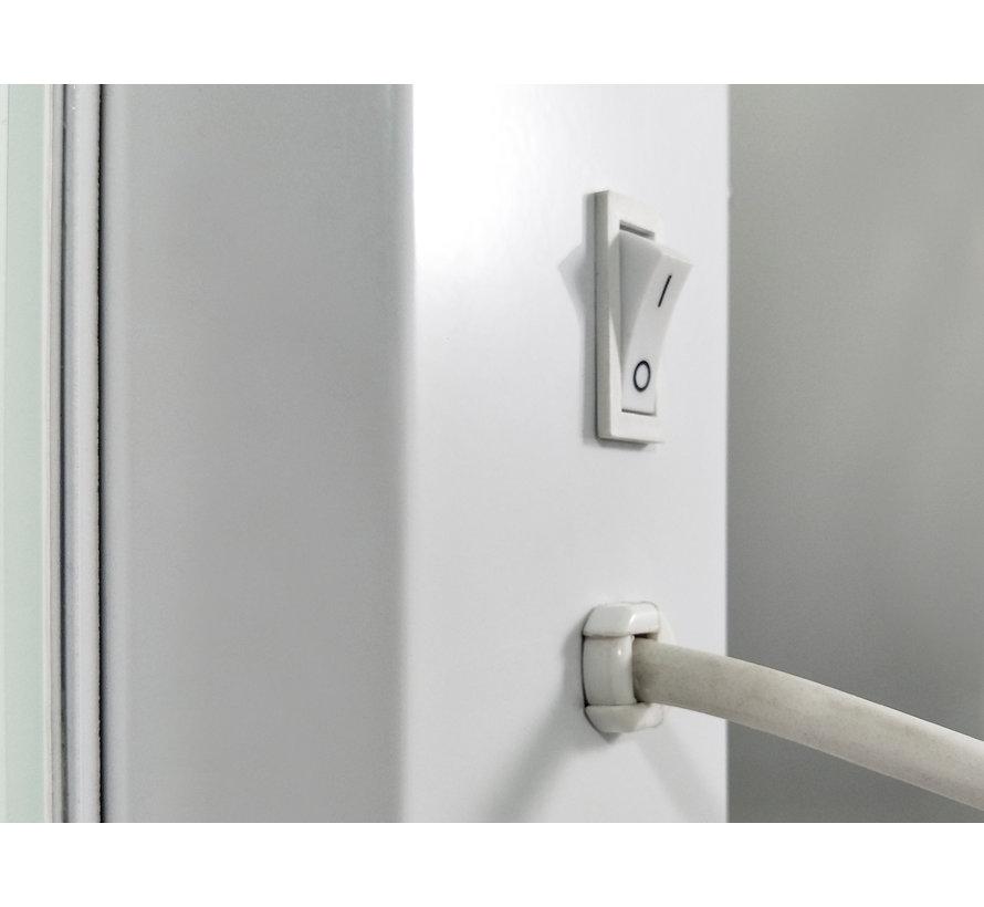 Élégance wand en vrijstaande glazen Wifi elektrische verwarming