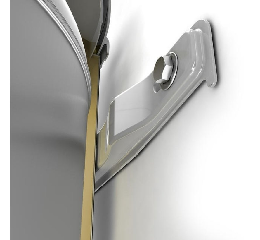 Tesy - 50 liter bi-light boiler slank model