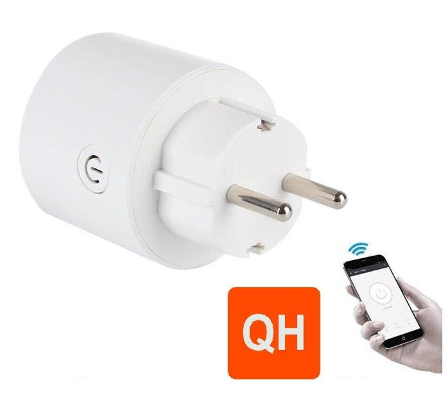 Wifi plug-in stopcontact smartphone -Randaarde (NL)