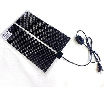 Quality Heating Warmtemat QH 14x15cm met dimmer en Aan/Uit schakelaar