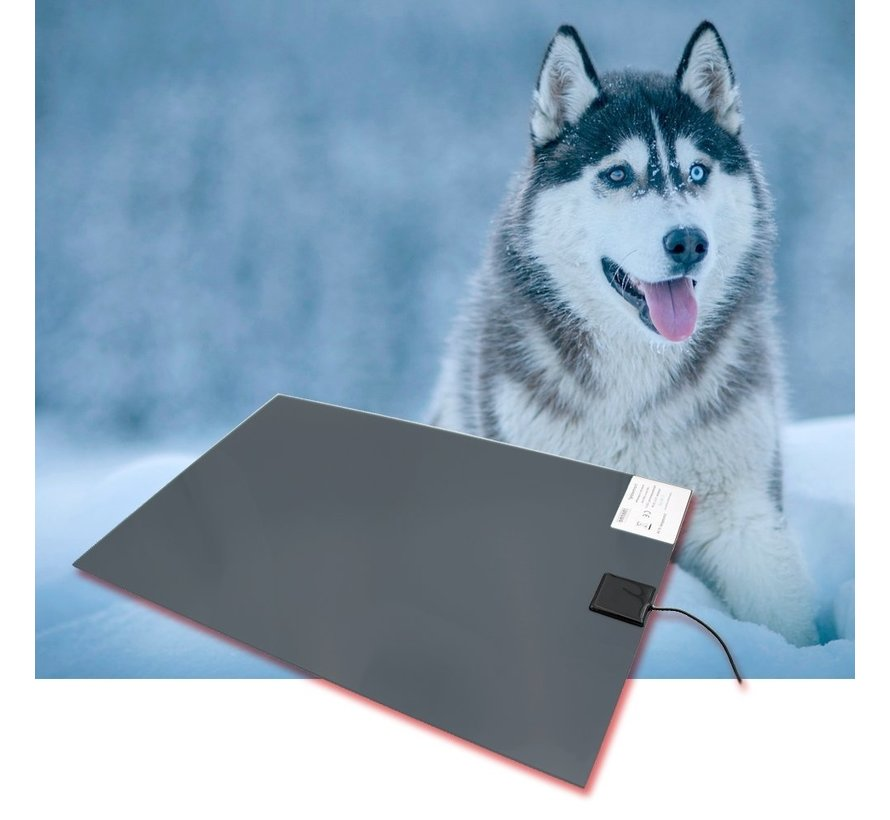 Verwarmingsplaat thermodog laag vermogen 40 x 60 cm 20Watt