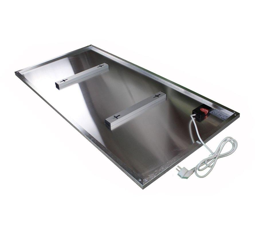 Eigen bedrukte infrarood paneel met aluminium omkader 450 - 700 Watt